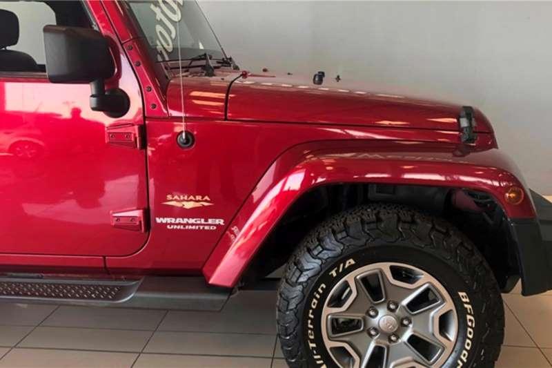 Used 2012 Jeep Wrangler Unlimited 3.6L Sahara