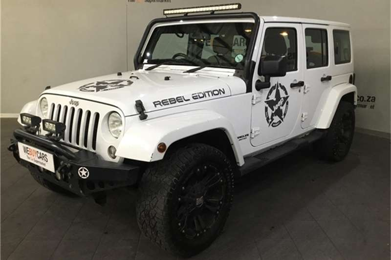 Jeep Wrangler Unlimited 3.6L Sahara 2015