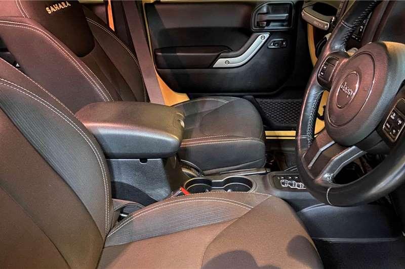 Used 2015 Jeep Wrangler Unlimited 3.6L Sahara