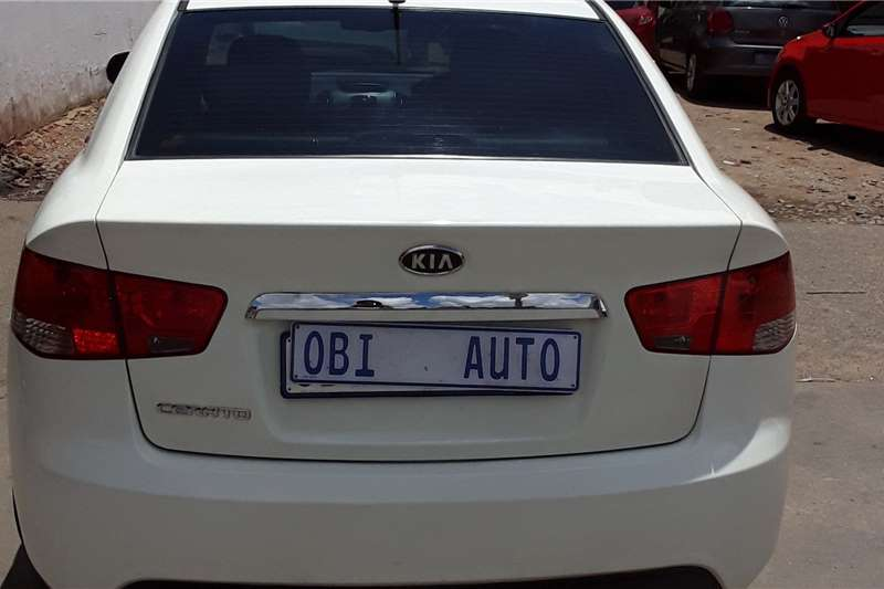 Kia Cerato sedan 1.6 EX automatic 2012