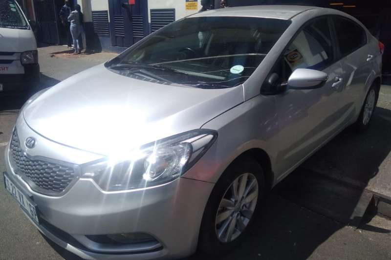 Kia Cerato sedan 1.6 EX automatic 2015