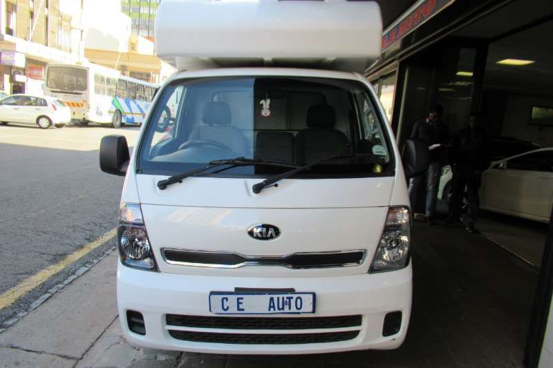Kia K2500 K2700 2.7D workhorse chassis cab 2014