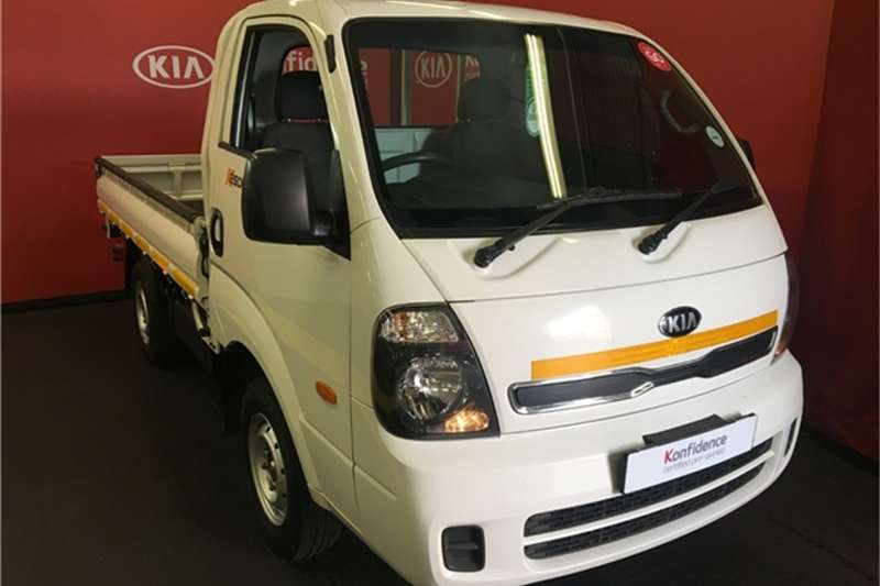 Kia K2500 workhorse dropside 2016