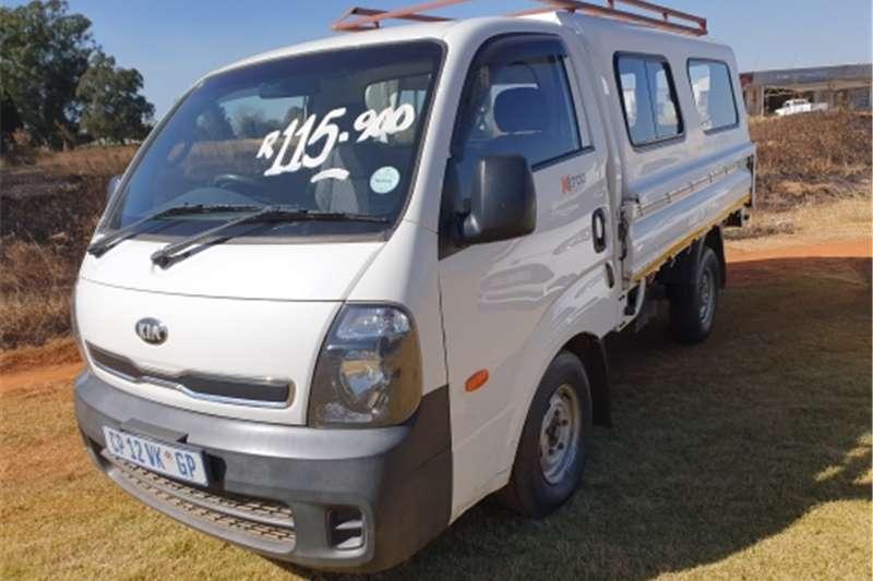 Kia K2700 2.7 Diesel dropsides 2013