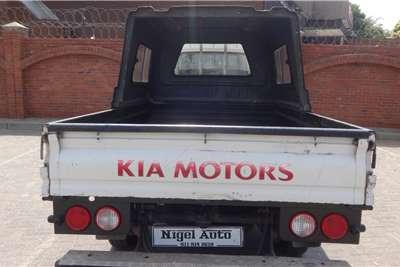 Kia K2700 2.7D workhorse dropside 2012