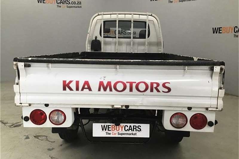 Kia K2700 2.7D workhorse dropside 2015