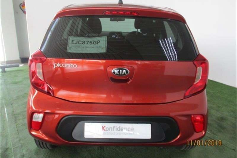Kia Picanto 1.0 STREET A/T 2021