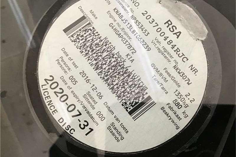 Kia Picanto 1.1 Striker 2011