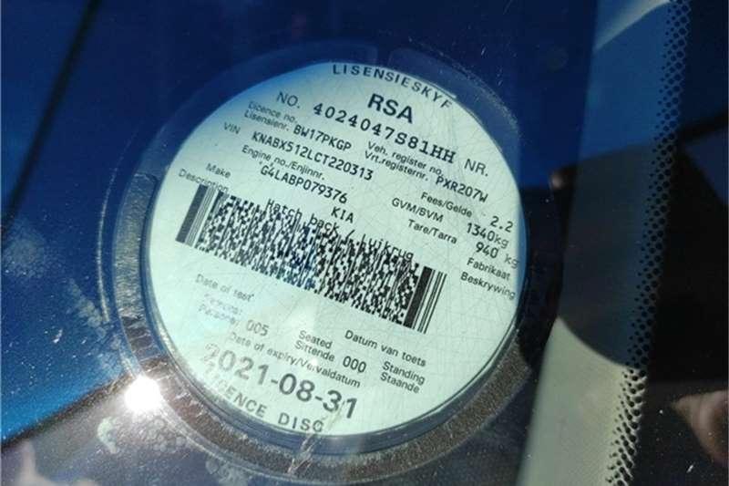 Used 2012 Kia Picanto 1.2 EX
