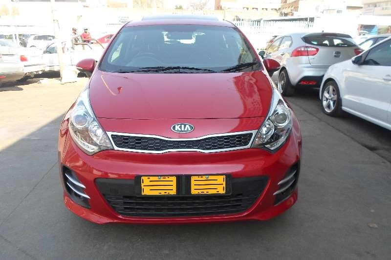 Kia Rio 1.4 4 door automatic 2011