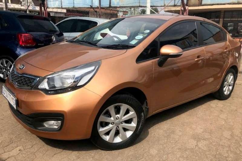 Kia Rio 1.4 4 door automatic 2012