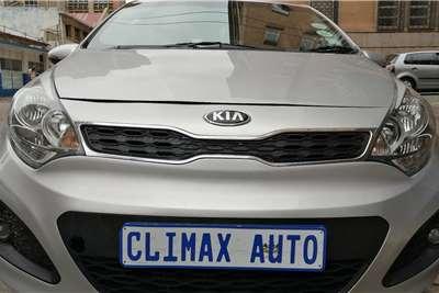 Kia Rio 1.4 4 door automatic 2014