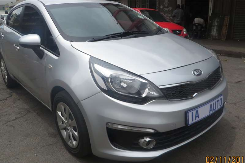 Kia Rio 1.4 4 door high spec 2014