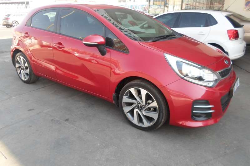 Kia Rio 1.4 4 door high spec 2015