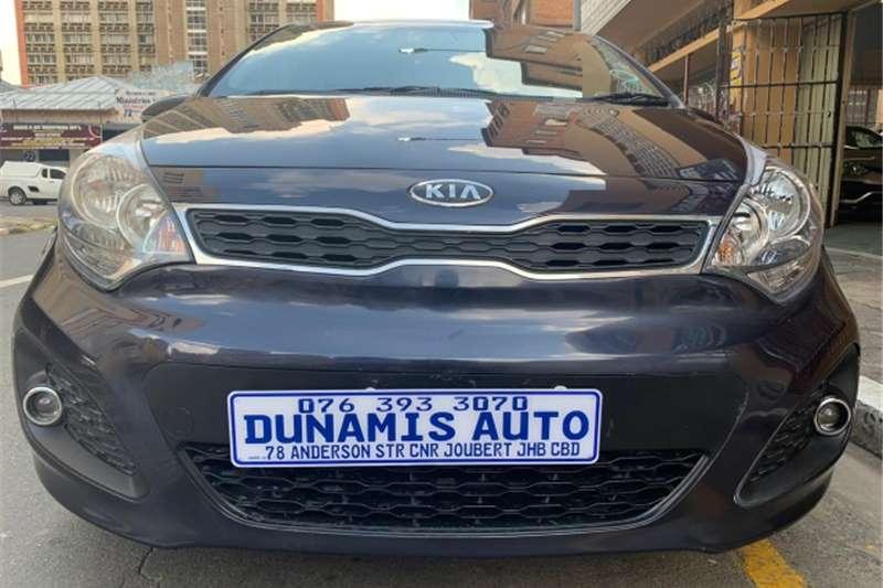 Kia Rio 1.4 4 door high spec automatic 2012