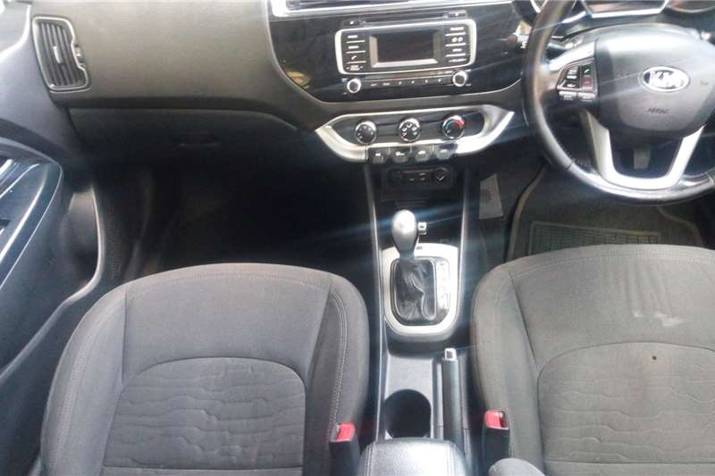 Kia Rio 1.4 4 door high spec automatic 2015