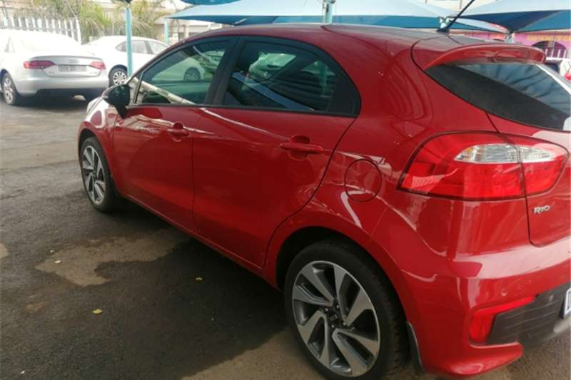 Kia Rio 1.4 5 door high spec 2015
