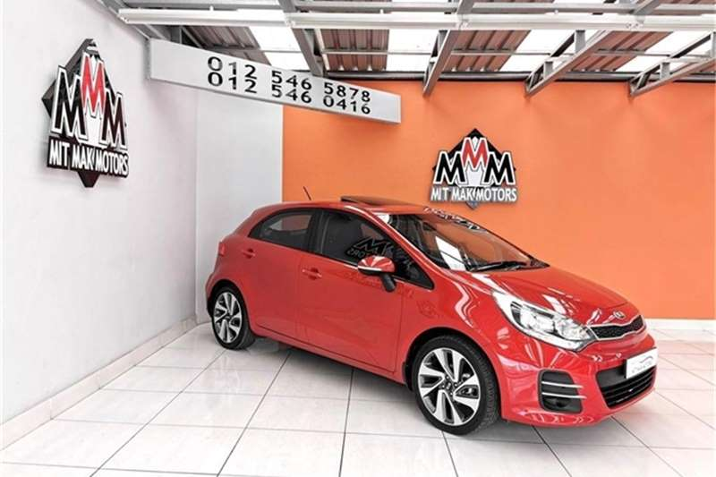 Kia Rio hatch 1.4 auto 2015
