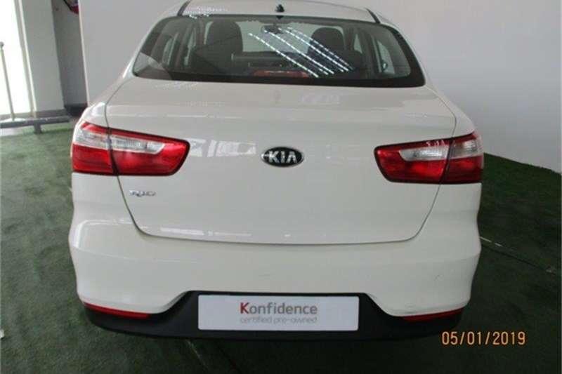 Kia Rio sedan 1.4 auto 2018