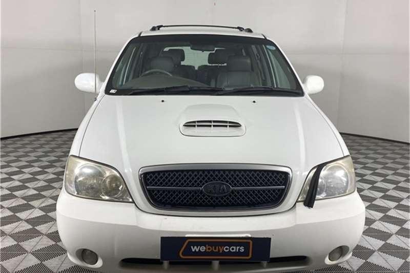 2005 Kia Sedona Sedona 2.9CRDi automatic