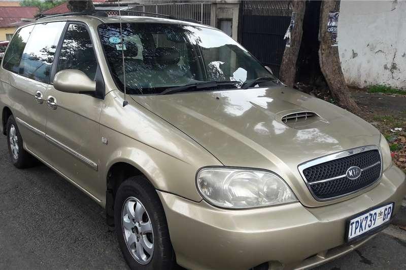 Kia Sedona 2.9CRDi EX auto 2005