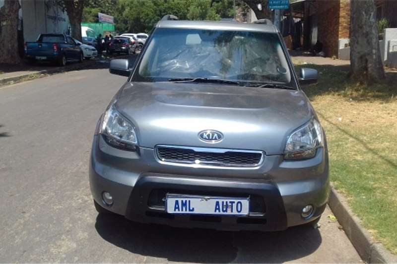 Kia Soul 1.6 high spec 2011
