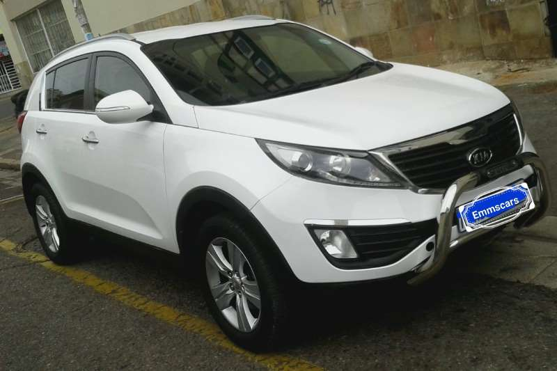 Kia Sportage 2.0 4x4 automatic 2013