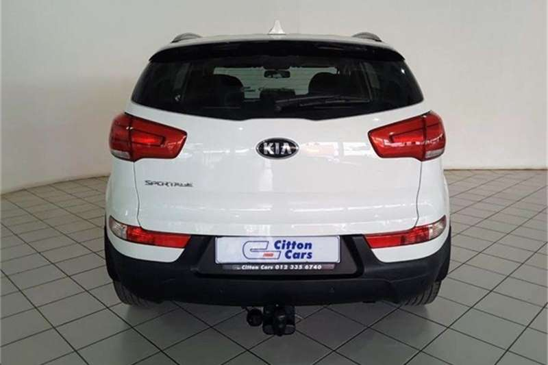 Kia Sportage 2.0 AWD auto 2014