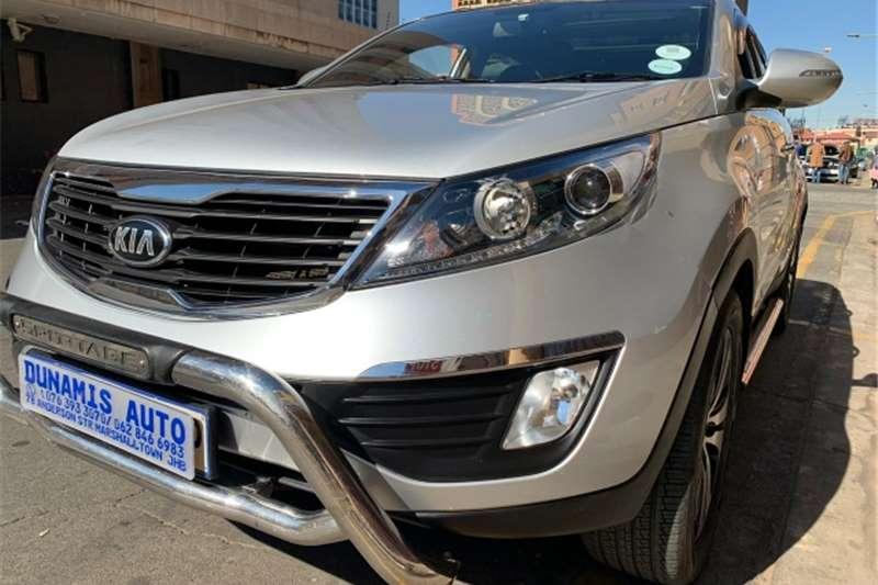 Kia Sportage 2.0CRDi 4x4 automatic 2012