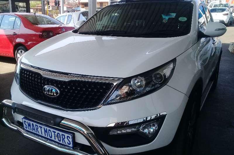 Kia Sportage 2.0CRDi 4x4 automatic 2014