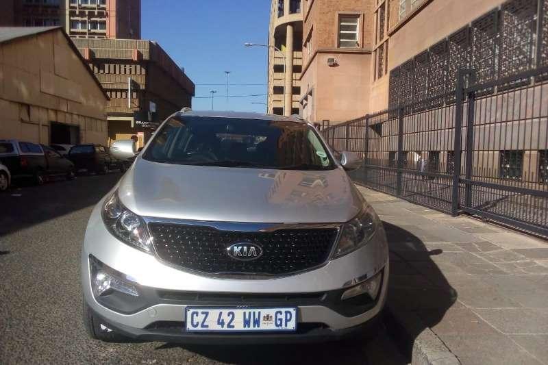 2014 Kia Sportage 2.0CRDi auto