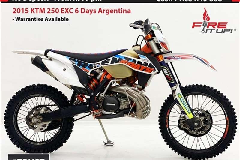 KTM 250 EXC 6 Days Argentina 2015