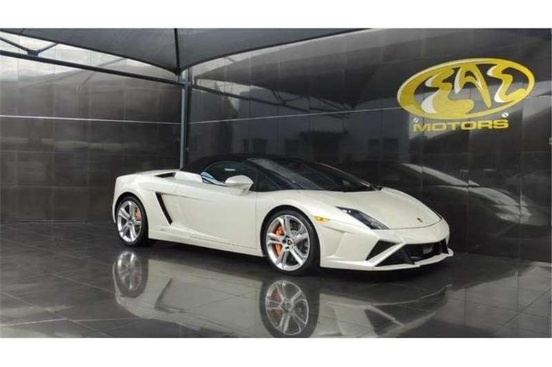 Lamborghini Gallardo LP560 4 Spyder Auto 2014