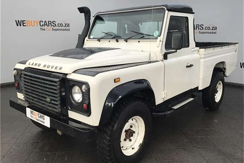 Land Rover Defender 110 TD high-capacity pick-up 2010