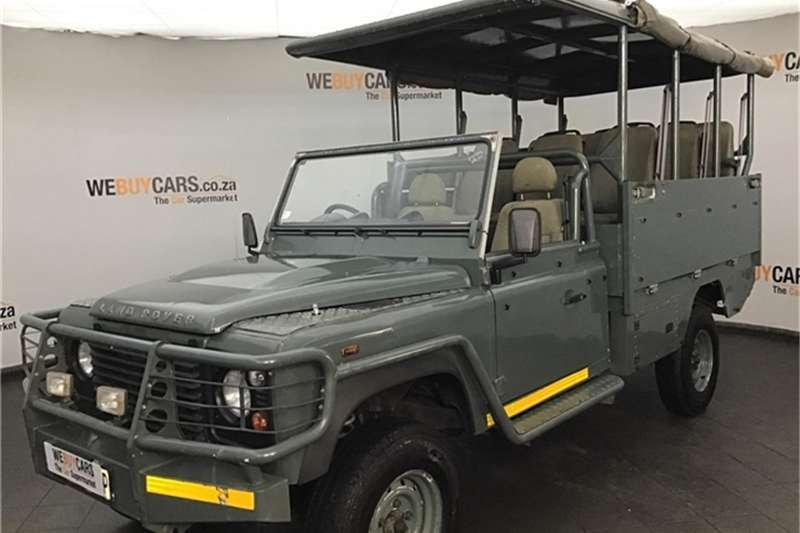 Land Rover Defender 130 TD chassis cab 2009