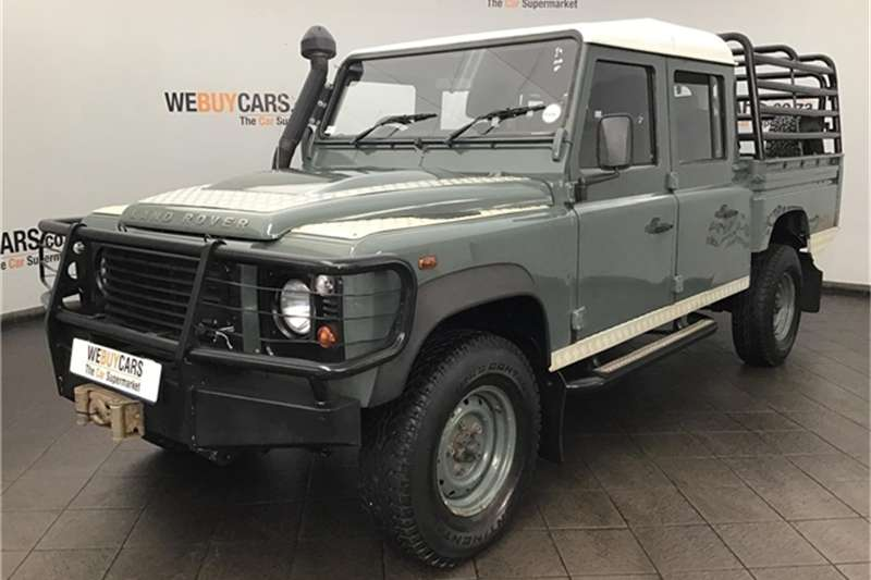 Land Rover Defender 130 TD double cab 2009