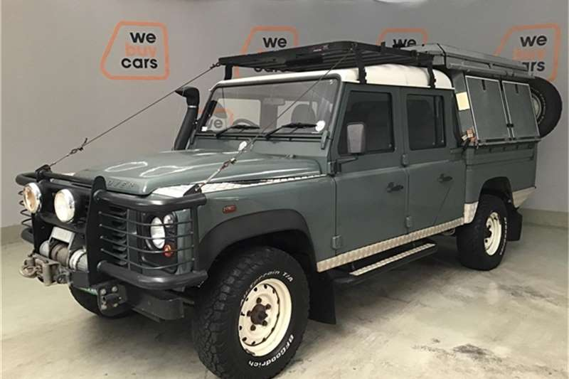 Land Rover Defender 130 TD double cab 2010