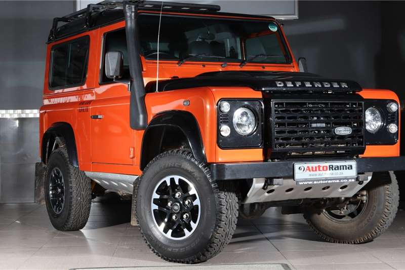 Land Rover Defender 90 TD station wagon Adventure Edition 2015