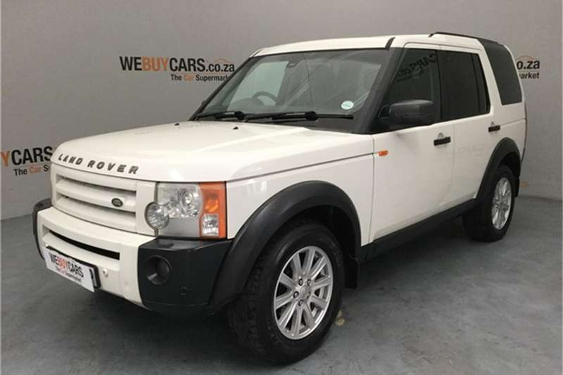 2007 Land Rover Discovery 3 TDV6 HSE