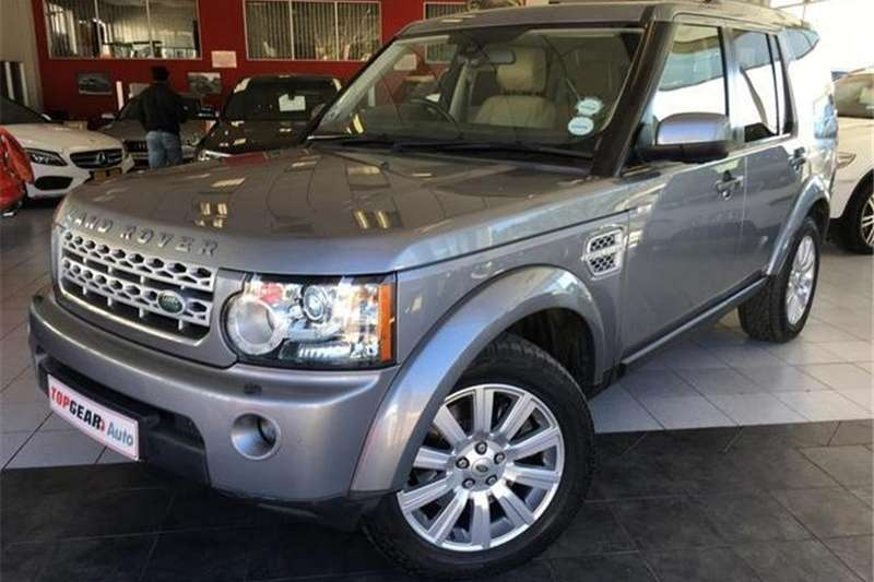 Land Rover Discovery 4 3.0 TDV6 HSE 2012