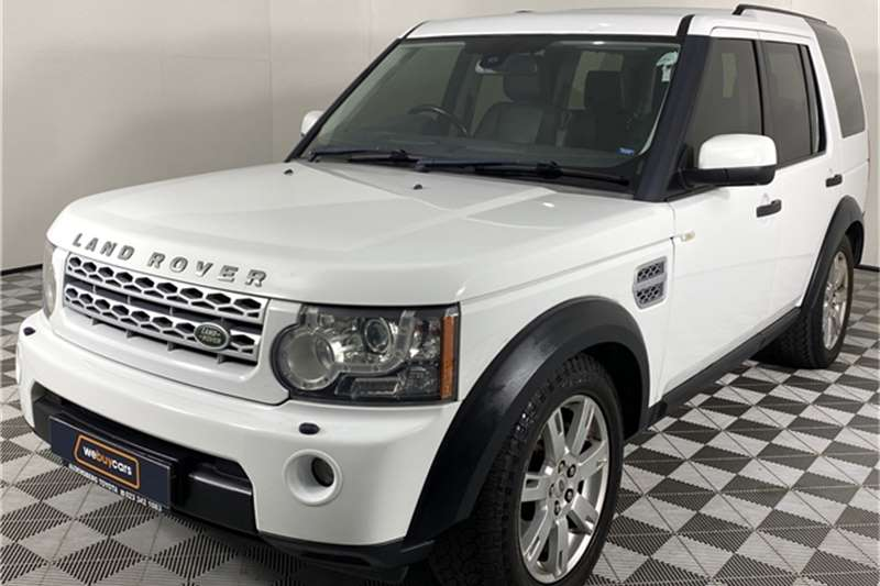 2012 Land Rover Discovery 4 Discovery 4 3.0 TDV6 S