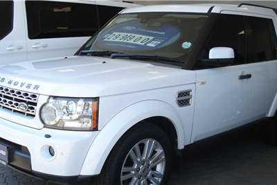 Used 2010 Land Rover Discovery 4 3.0TDV6 HSE