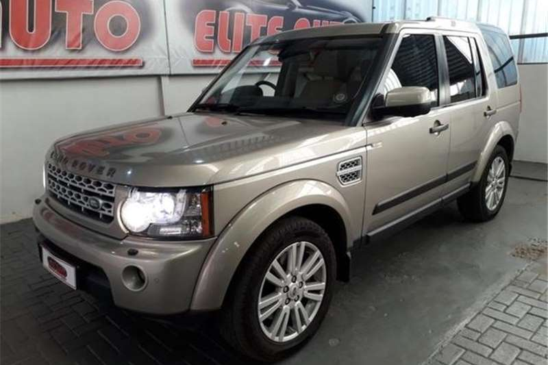Land Rover Discovery 4 3.0TDV6 HSE 2011