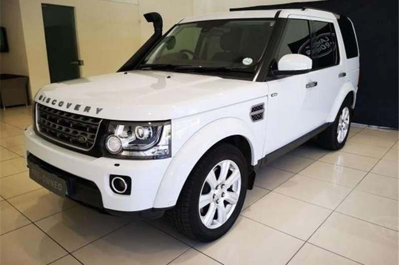 2016 Land Rover Discovery 4 3.0 TDV6 SE