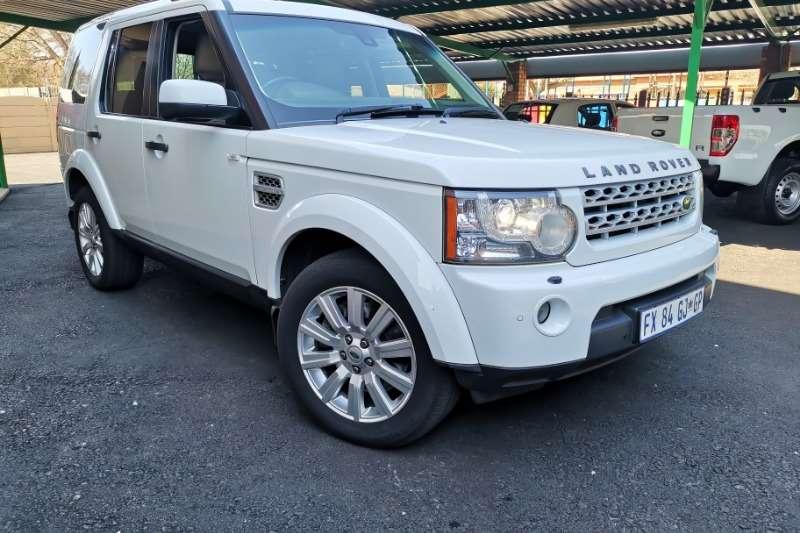 2013 Land Rover Discovery 4 SDV6 SE