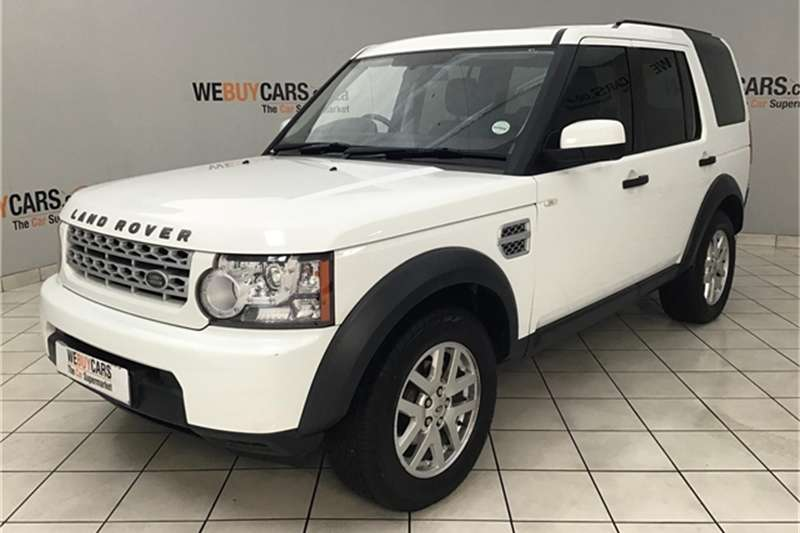 2013 Land Rover Discovery 4 TDV6 XS
