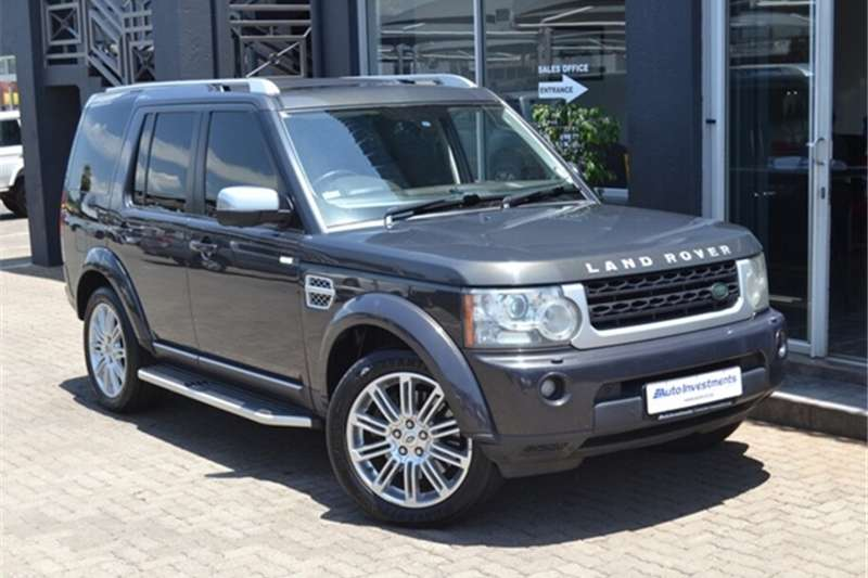2013 Land Rover Discovery 4 SDV6 HSE Luxury Edition