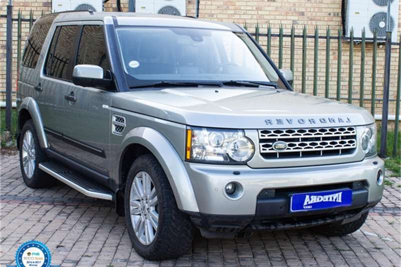 2011 Land Rover Discovery 4 V8 HSE