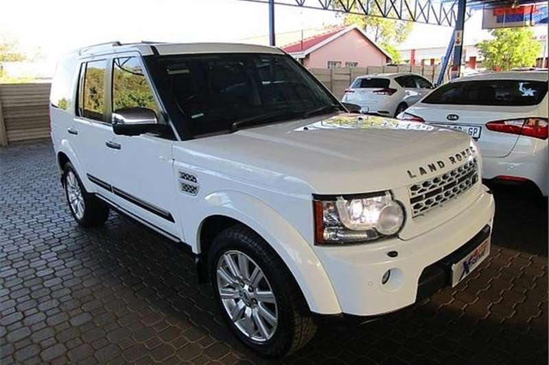 Land Rover Discovery 4 SDV6 HSE 2012