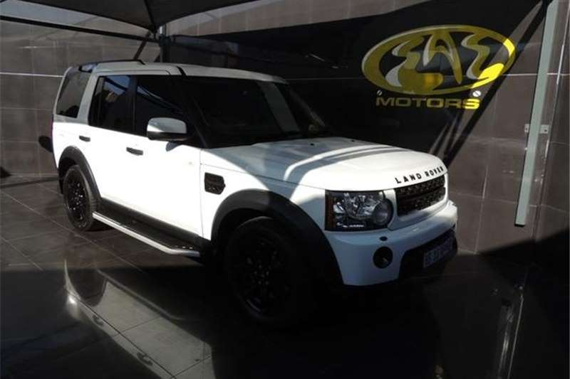 Land Rover Discovery 4 SDV6 S 2012